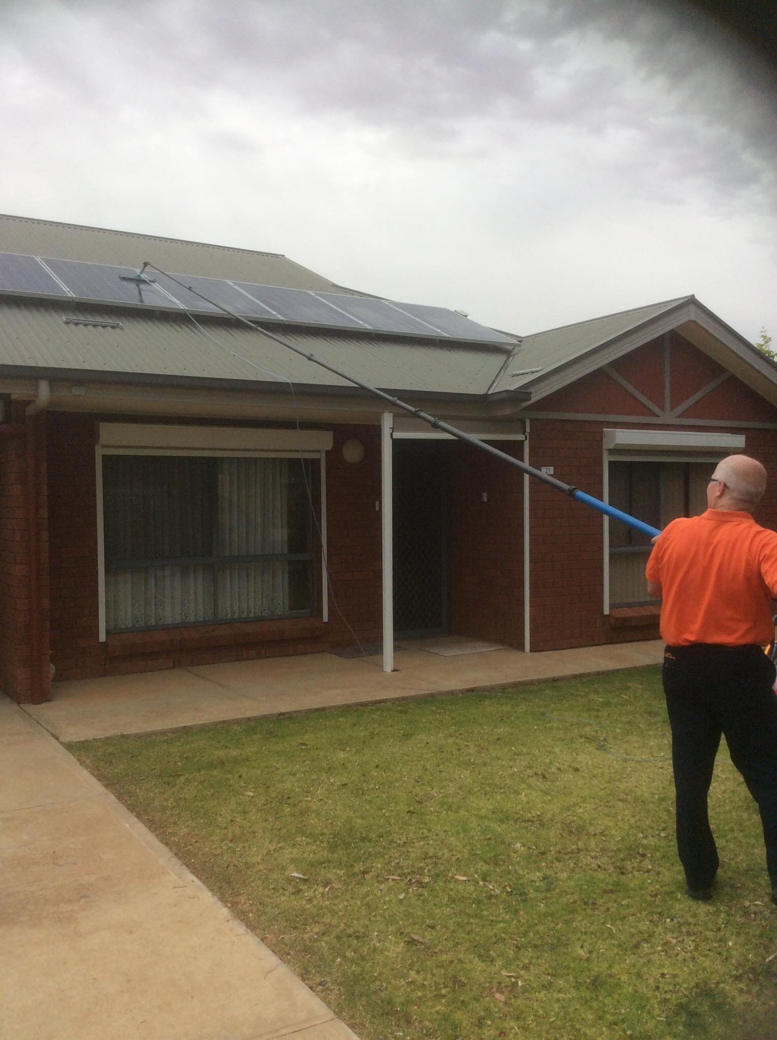 Solar Panel Cleaner Near Loxton
