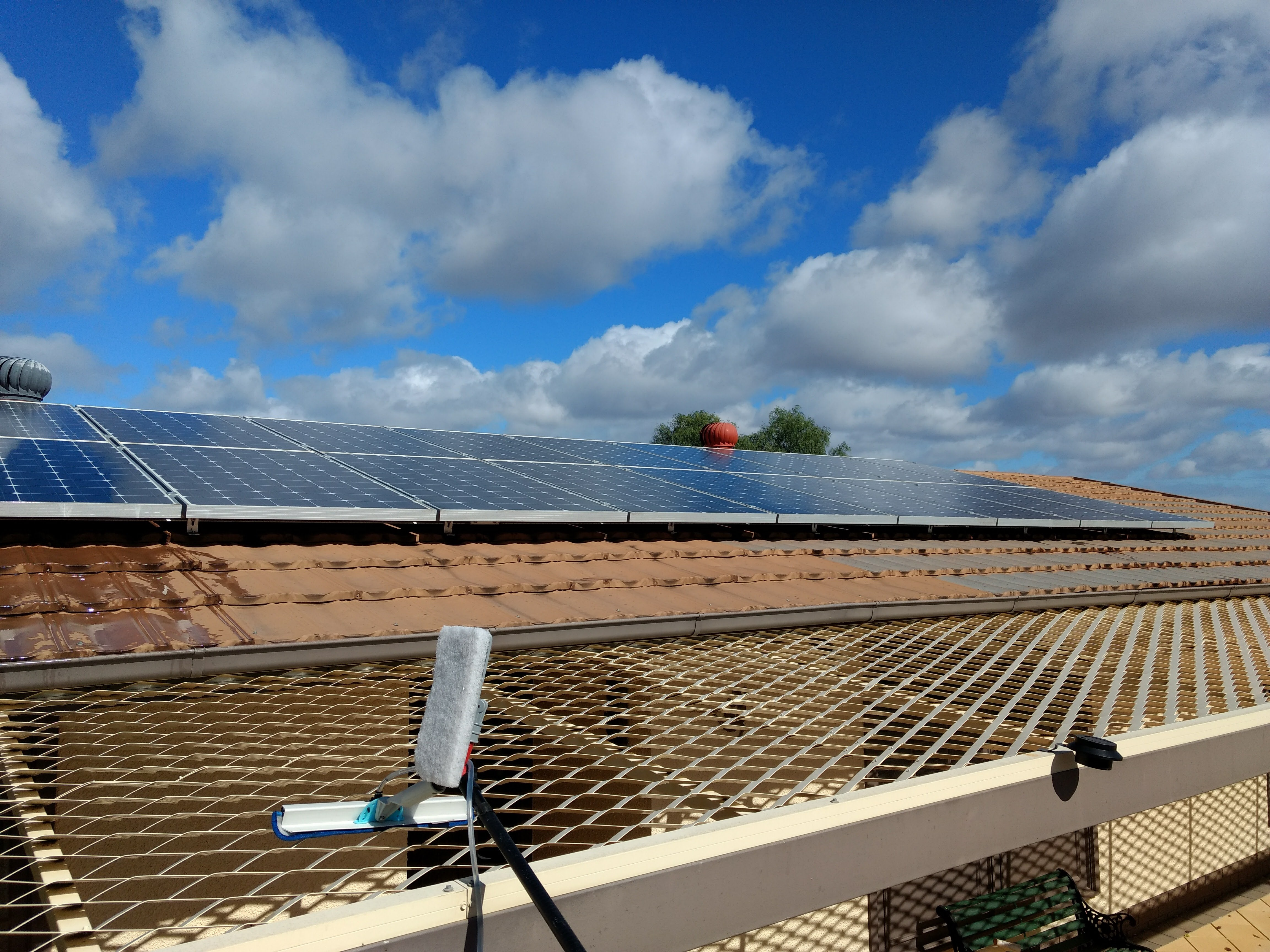 Solar- Panel- Cleaning - Riverland