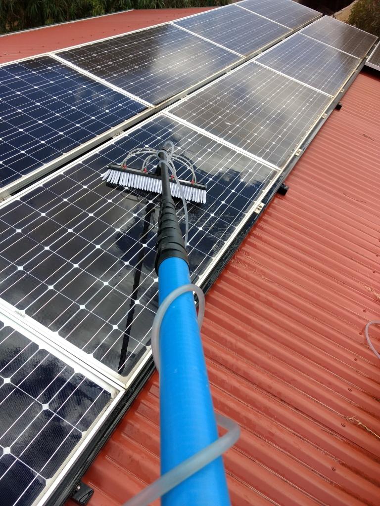 Solar Panel Cleaning Near Renmark