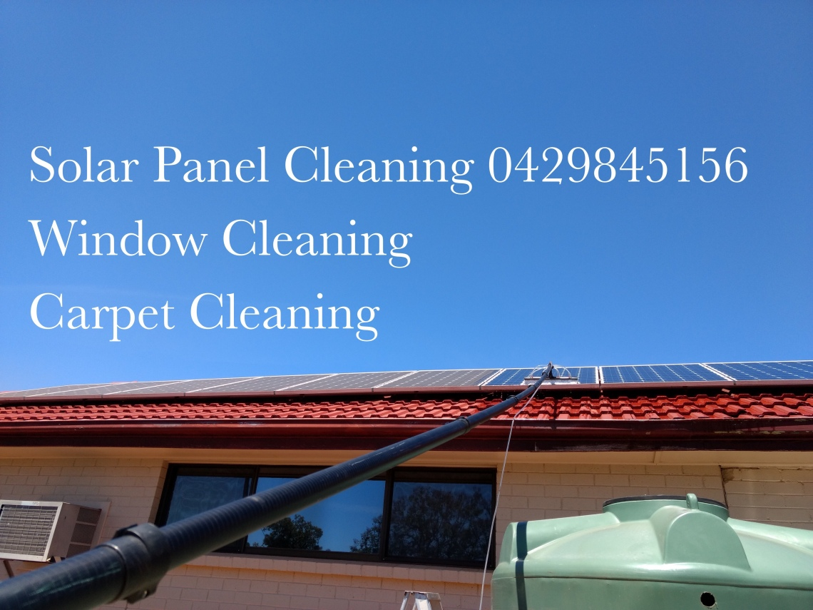 Loxton Solar Panel Cleaner